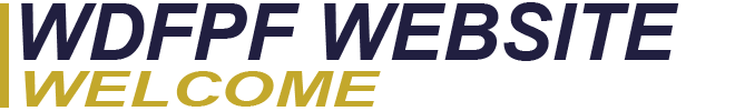 WDFPF WEBSITE WELCOME LOGO